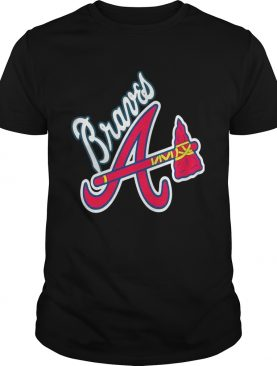 Allbluea Angels Braves shirt