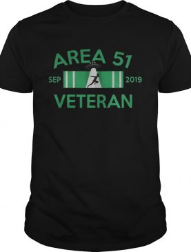 Area 51 Veteran Sep 2019 alien shirt