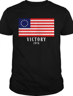 Betsy ross flag victory 1976 shirt