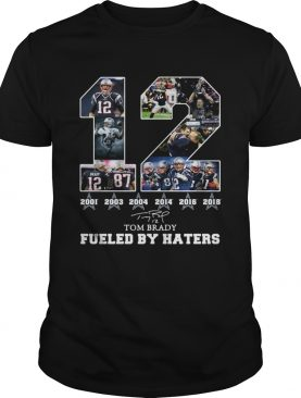Dallas Cowboys Tom Brady fueled by haters signature shirt