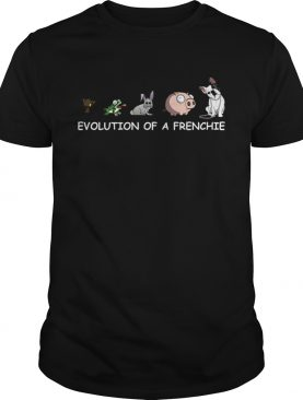 Evolution of a Frenchie shirt