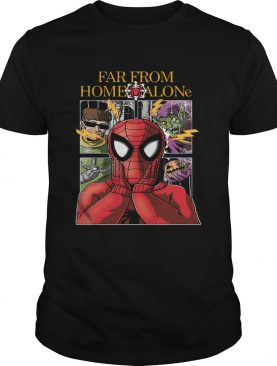 Far from home alone spiderman shirt