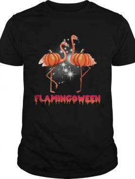Flamingoween pumpkin Flamingo halloween shirt