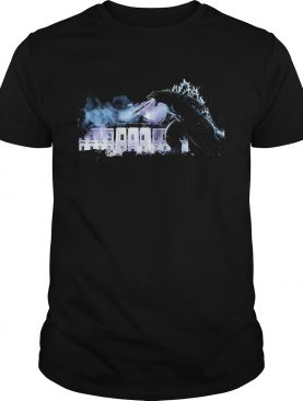Godzilla atomic breath The White House King ofthe Monsters shirt