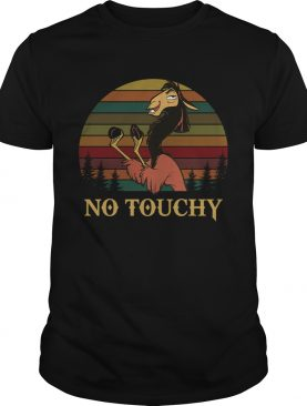 Kuzco in llama form no touchy The Emperors New Groove retro shirt