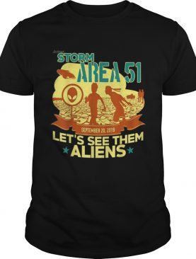 Lets See Them Aliens Free The Aliens UFO Memes shirt