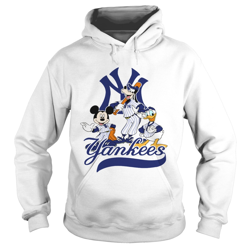 reputable site 8d949 07574 Mickey Mouse Pluto Donald Duck New York Yankees shirt
