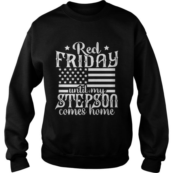 Red Friday Support Military Family Son sweatshirt