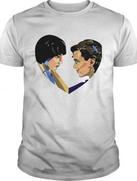 Stranger Things Mike and Eleven love shirt