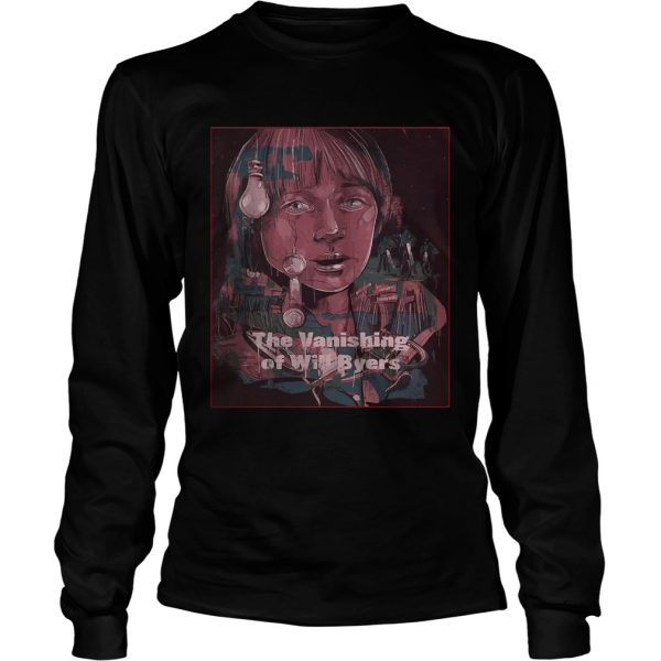 Stranger Things The Vanishing of Will Byers longsleeve tee