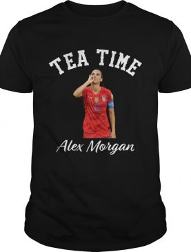 Tea time Alex Morgan shirt