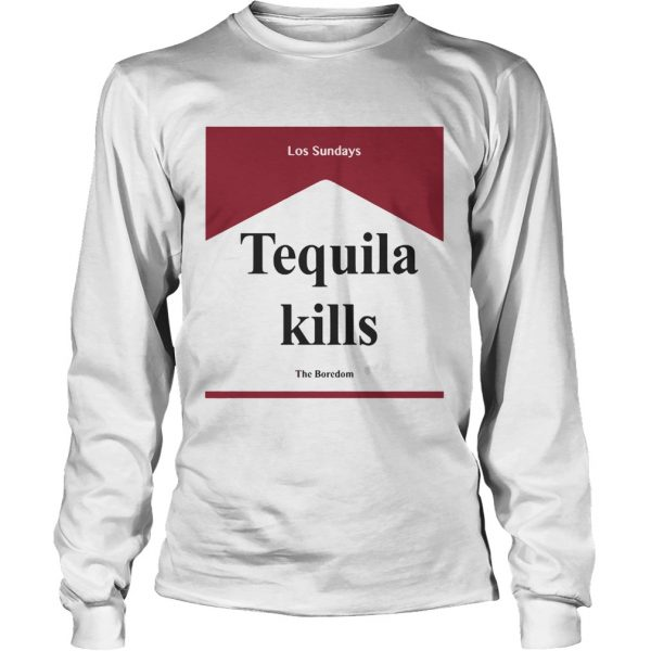 Tequila kill Los Sundays The Boredom longsleeve tee