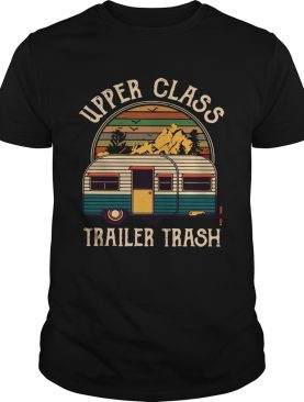 Upper class trailer trash vintage sunset shirt
