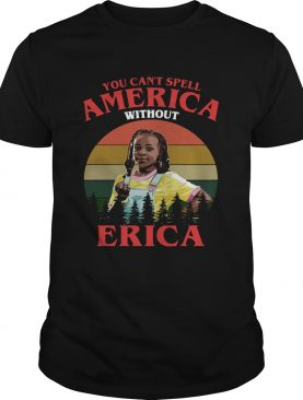 You cant spell America without Erica retro shirt