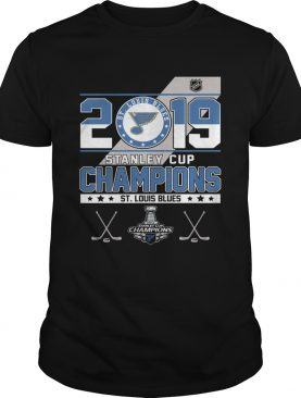 2019 Stanley cup champions St. Louis Blues shirt