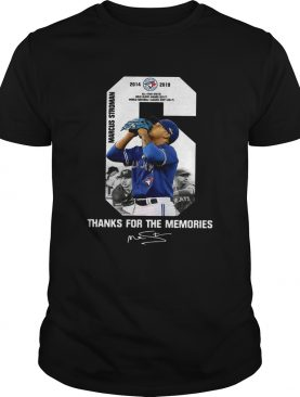 6 Marcus Stroman Toronto Blue Jays thank you for the memories shirt