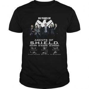 6 years of Agents Of SHIELD 2013 2019 signature unisex