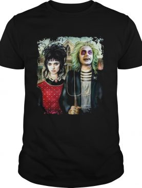 American Gothic Beetlejuice shirt