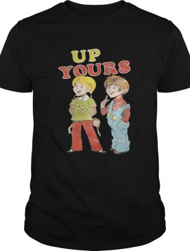 Ann and Barry up yours shirt
