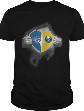 Bills Sabres Its in my heart inside me shirt