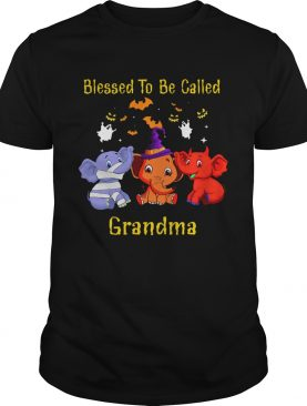 Blessed To Be Called Grandma Elephant TShirt