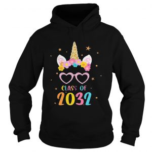 Class Of 2032 Grow With Me First Day Of School Kid hoodie