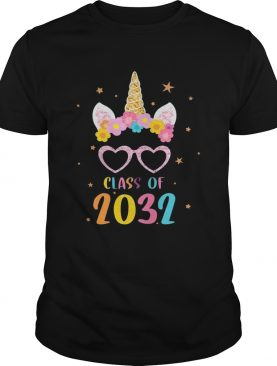 Class Of 2032 Grow With Me First Day Of School Kid TShirt