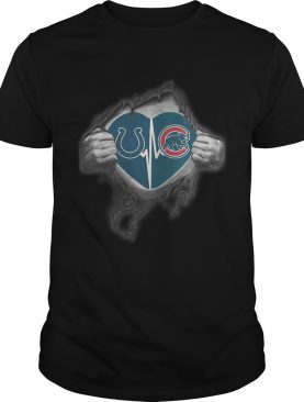 Colts Cubs Its in my heart inside me shirt