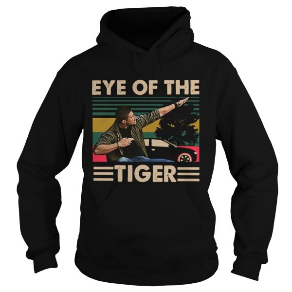 Dean Winchester Eye of the tiger hoodie