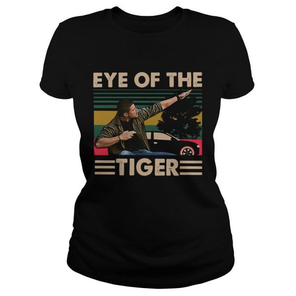 Dean Winchester Eye of the tiger ladeis tee