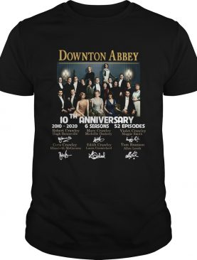 Downton Abbey 10th Anniversary 2010 2020 6seasons 52 episodes signatures shirt