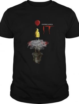 Georgie Denbrough shadow Pennywise Stephen Kings IT shirt