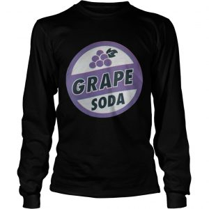 Grape Soda longsleeve tee