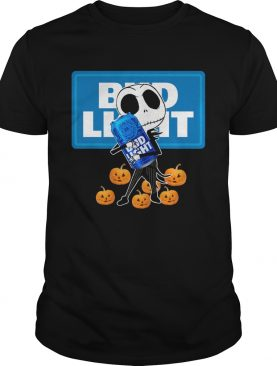 Jack Skellington hug Bud Light Halloween shirt