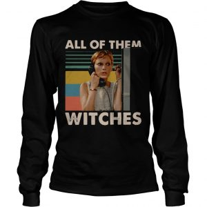 Mia Farrow in Rosemarys Baby all of them witches vintage longsleeve tee