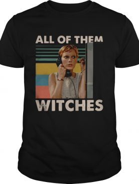 Mia Farrow in Rosemarys Baby all of them witches vintage shirt
