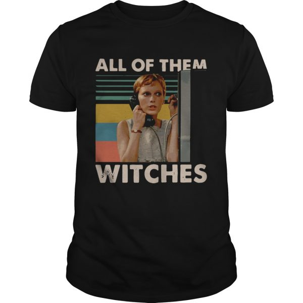 Mia Farrow in Rosemarys Baby all of them witches vintage unisex