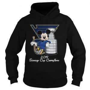 Mickey 2019 Stanley Cup Champions hoodie