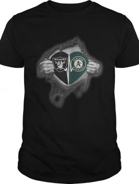 Raiders Athletics Its in my heart inside me shirt