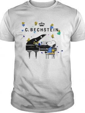 Snoopy playing C Bechstein piano shirt