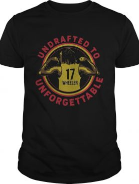 Undrafted To Unforgettable Erica Wheeler Shirt