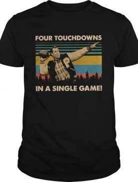 Vintage Football legend Al Bundy four touchdowns in a single shirt