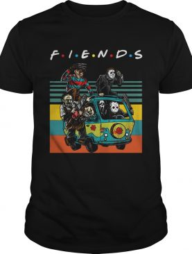 Vintage Friends TV Show Horror film characters shirt