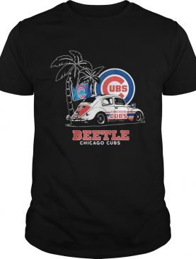Volkswagen Beetle Chicago Cubs shirt