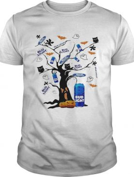 Bud Light Tree Halloween shirt