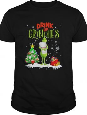 Drink up Grinches Christmas Dunkin' Donuts shirt