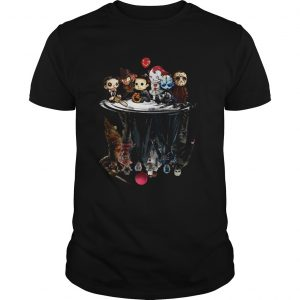 Horror characters movies water mirror reflection unisex