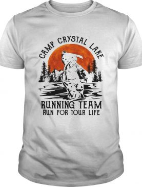Jason Voorhees Camp crystal lake running team run for your life shirt