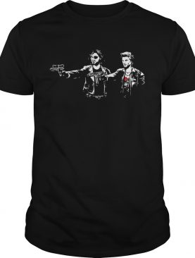 Kurt Fiction Snake Plissken and Jack Burton shirt