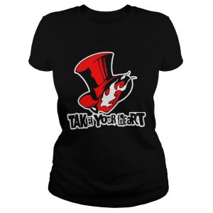 Persona Hat Anime 5 Take Your Heart ladeis tee